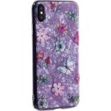 Чехол-накладка пластиковый Fashion Case для iPhone XS Max (6.5) с силиконовыми бортами Розовый вид №5