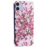 Чехол-накладка пластиковый Fashion Case для iPhone 11 (6.1) с силиконовыми бортами Розовый вид №2