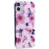 Чехол-накладка пластиковый Fashion Case для iPhone 11 (6.1) с силиконовыми бортами Розовый вид №4