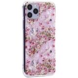 Чехол-накладка пластиковый Fashion Case для iPhone 11 Pro (5.8) с силиконовыми бортами Розовый вид №1