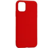 Чехол-накладка силикон Deppa Gel Color Case Basic D-87230 для iPhone 11 (6.1) 0.8 мм Красный