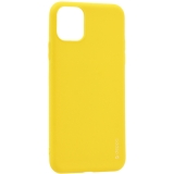 Чехол-накладка силикон Deppa Gel Color Case D-87245 для iPhone 11 (6.1) 1.0 мм Желтый