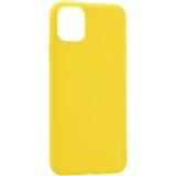 Чехол-накладка силикон Deppa Gel Color Case D-87239 для iPhone 11 Pro (5.8) 1.0 мм Желтый