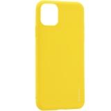 Чехол-накладка силикон Deppa Gel Color Case D-87251 для iPhone 11 Pro Max (6.5) 1.0мм Желтый