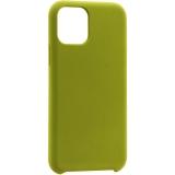 Чехол-накладка силикон Deppa Liquid Silicone Case D-87308 для iPhone 11 Pro Max (6.5) 1.5мм Оливковый
