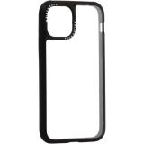 Чехол-накладка закаленное стекло Black Rock Robust Transparent Case для iPhone 11 Pro (5.8) силиконовый борт (805081) Черный