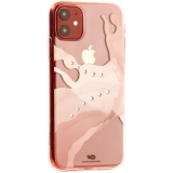 Чехол-накладка White Diamonds Liquids пластик для iPhone 11 (6.1) с кристаллами Swarovski (805093) 1410LIQ56 Прозрачный
