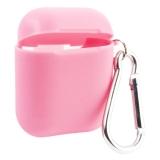 Чехол силиконовый COTEetCI для AirPods 2 TPU Case (CS8127-PK) Розовый