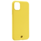 Чехол-накладка силикон Momax Silky & Soft Silicone Case для iPhone 11 (6.1) Желтый