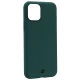 Чехол-накладка силикон Momax Silky & Soft Silicone Case для iPhone 11 Pro (5.8) Зеленый