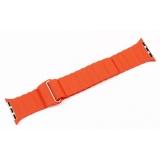 Ремешок кожаный COTEetCI W7 Leather Magnet Band (WH5205-OR) для Apple Watch 38 мм Оранжевый