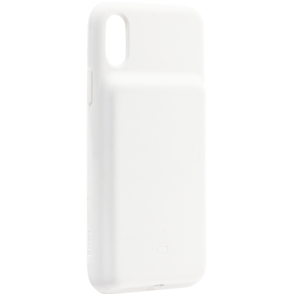 Аккумулятор-чехол внешний Baseus Liquid Silica Gel Power Bank Case 3900 mAh (ACAPIPH61-BJO2) для iPhone XR (6.1) Белый