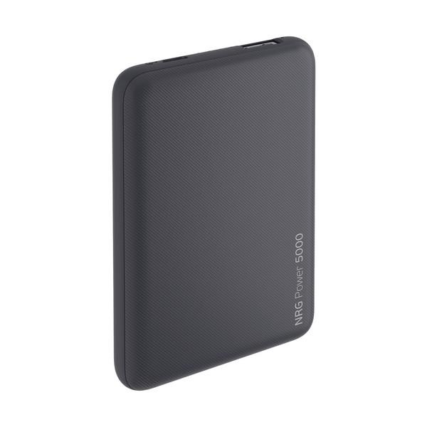 Аккумулятор внешний универсальный Deppa NRG 5000 mAh power bank D-33549 (USB: 5V-1.0A) Графитовый
