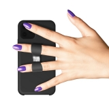 Чехол-накладка силикон White Diamonds Bow Silicone Case (D-805098) 1410BOW6 для iPhone 11 (6.1) Черный