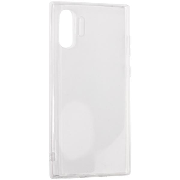 Чехол-накладка силикон Deppa Gel Case D-87329 для Samsung GALAXY Note 10 Plus (2019) 0.6мм Прозрачный