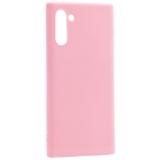 Чехол-накладка силикон Deppa Gel Color Case D-87333 для Samsung GALAXY Note 10 (2019) 0.8мм Розовый