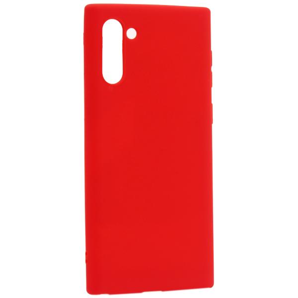 Чехол-накладка силикон Deppa Gel Color Case D-87334 для Samsung GALAXY Note 10 (2019) 0.8мм Красный