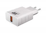 Адаптер питания BoraSCO B-37260 QC 3.0 (USB: 5V) Белый