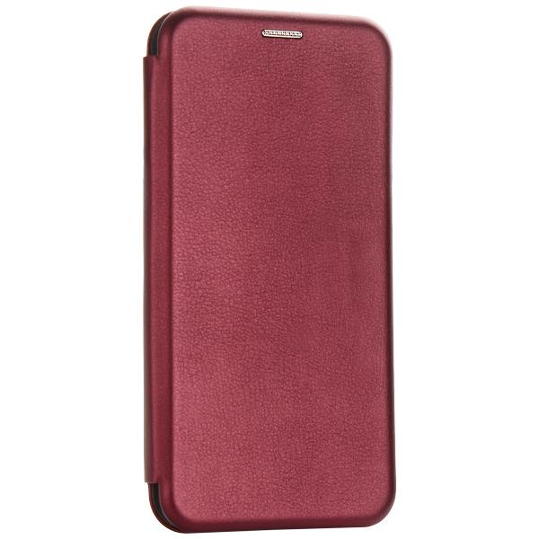 Чехол-книжка кожаный Fashion Case Slim-Fit для Samsung Galaxy A30s Бордовый