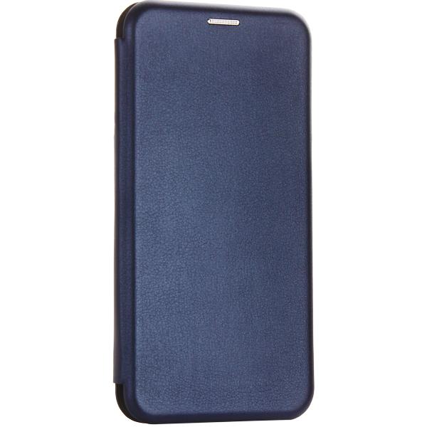 Чехол-книжка кожаный Fashion Case Slim-Fit для Samsung Galaxy A30 Синий