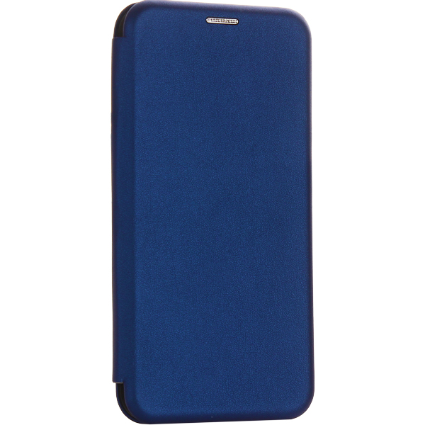 Чехол-книжка кожаный Fashion Case Slim-Fit для Samsung Galaxy A30s Синий