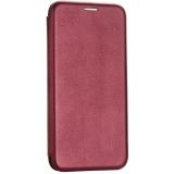 Чехол-книжка кожаный Fashion Case Slim-Fit для iPhone 8 (4.7) Бордовый
