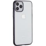 Чехол-накладка пластиковый X-Level для iPhone 11 Pro (5.8) Черный глянцевый борт