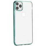 Чехол-накладка силиконовый X-Level для iPhone 11 Pro Max (6.5) Зеленый глянцевый борт