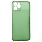 Чехол-накладка карбоновая K-Doo Air Carbon 0.45мм для iPhone 11 Pro (5.8) Зеленая