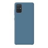 Чехол-накладка силикон Deppa Liquid Silicone Case D-87425 для Samsung A71 1.7мм Синий