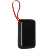 Аккумулятор внешний универсальный Baseus Mini S 15W (USB: 5V-3A & Type C cable: 5V-3A) (PPXF-A01) 10000 mAh Черный
