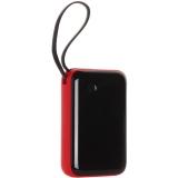 Аккумулятор внешний универсальный Baseus Mini S 15W (USB: 5V-3A & Type C cable: 5V-3A) (PPXF-A09) 10000 mAh Красный