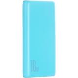 Аккумулятор внешний универсальный Baseus Bipow QC 18W (USB:5V-3A & Type C: 5V-3A) (PPDML-03) 10000 mAh Голубой