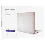 Защитный чехол-накладка HardShell Case для Apple MacBook New Pro 16  Touch Bar (2019г.) A2141 матовая прозрачная