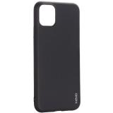 Чехол-накладка силиконовый X-Level для iPhone 11 Pro Max (6.5) Черный