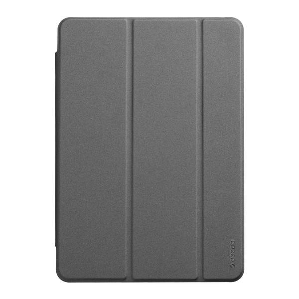 Чехол-подставка Deppa Wallet Onzo Basic для iPad (10.2) 2019г. Soft touch 1.0мм (D-88055) Серый