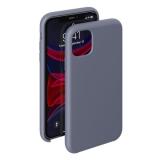 Чехол-накладка силикон Deppa Liquid Silicone Case D-87481 для iPhone 11 Pro Max (6.5) 1.5 мм Cеро-лавандовый