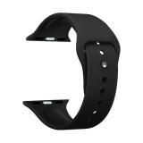 Ремешок силиконовый Deppa Band Silicone D-47129 для Apple Watch 44 мм Черный