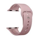 Ремешок силиконовый Deppa Band Silicone D-47131 для Apple Watch 42 мм Розовый