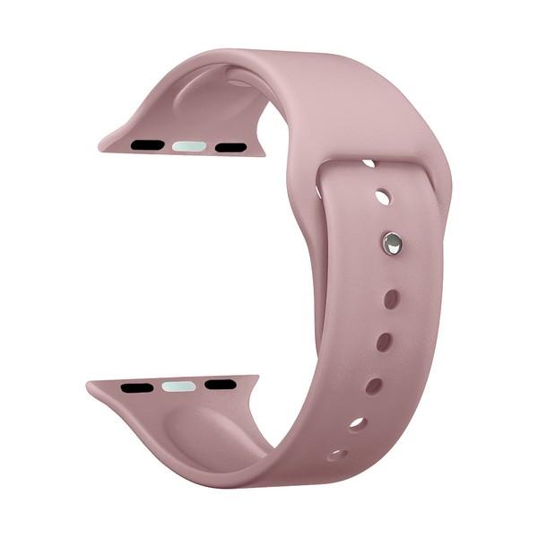 Ремешок силиконовый Deppa Band Silicone D-47124 для Apple Watch 38 мм Розовый