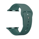 Ремешок силиконовый Deppa Band Silicone D-47126 для Apple Watch 38 мм Зеленый