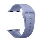 Ремешок силиконовый Deppa Band Silicone D-47135 для Apple Watch 44 мм Лавандовый