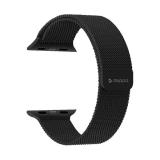 Ремешок из нержавеющей стали Deppa Band Mesh D-47151 для Apple Watch 42 мм Черный