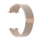 Ремешок из нержавеющей стали Deppa Band Mesh D-47150 для Apple Watch 42 мм Розовое-золото