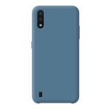 Чехол-накладка силикон Deppa Liquid Silicone Case D-87434 для Samsung A01 (2020) 1.7мм Синий