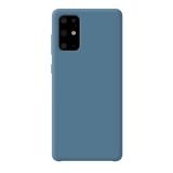 Чехол-накладка силикон Deppa Liquid Silicone Case D-87428 для Samsung S20 Plus 1.7мм Синий