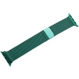 Ремешок из нержавеющей стали COTEetCI W6 MAGNET Band (WH5202-GR) для Apple Watch 40 мм Зеленый