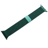 Ремешок из нержавеющей стали COTEetCI W6 MAGNET Band (WH5203-GR) для Apple Watch 44 мм Зеленый