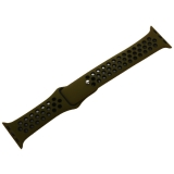 Ремешок спортивный COTEetCI W12 Sport Band (WH5216-GR-BK-38) для Apple Watch 40 мм Черно-Зеленый