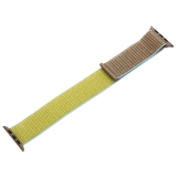 Ремешок COTEetCI W17 Magic Tape Band (WH5226-TS-42) для Apple Watch 44 мм Светло-коричневый